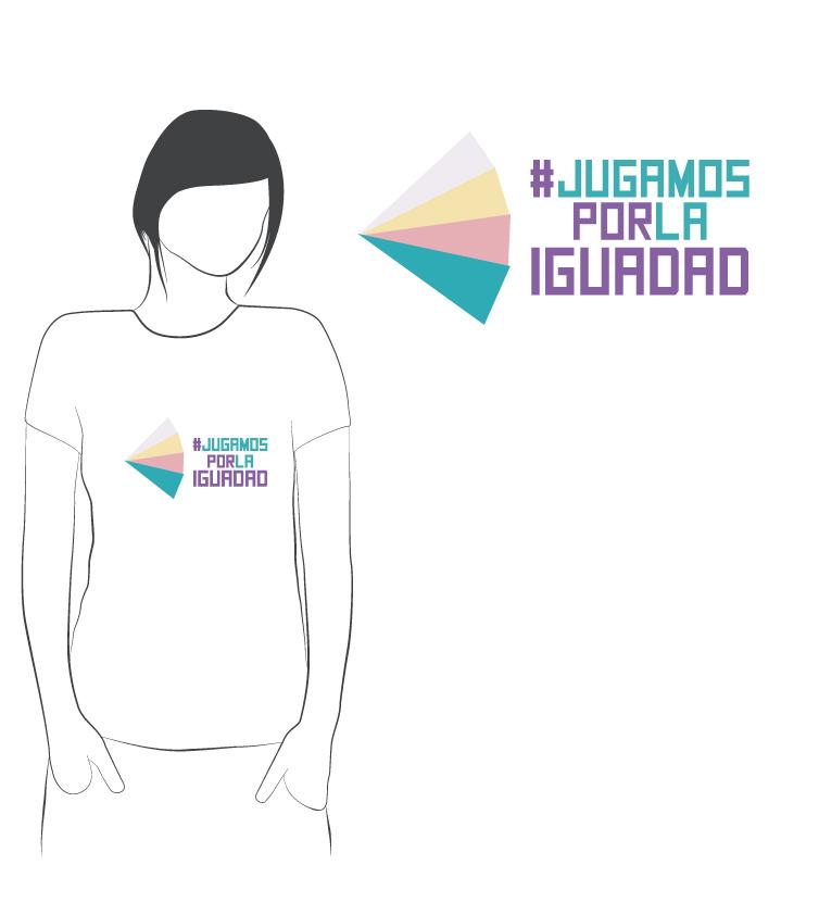 Camisetas para la misma campaña