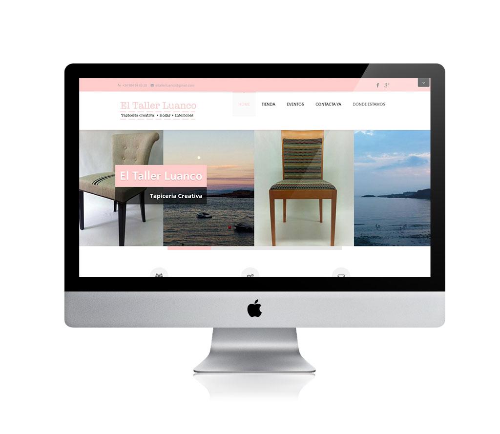 web El taller luanco